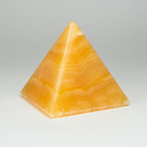Orange Calcite Pyramid from Mexico (3.5 lbs)