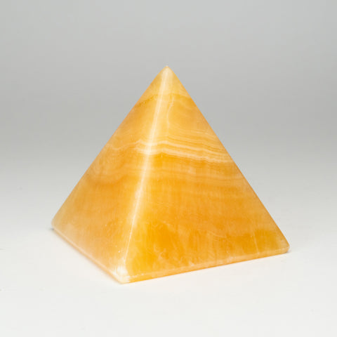 Orange Calcite Pyramid from Mxico (3 lbs)
