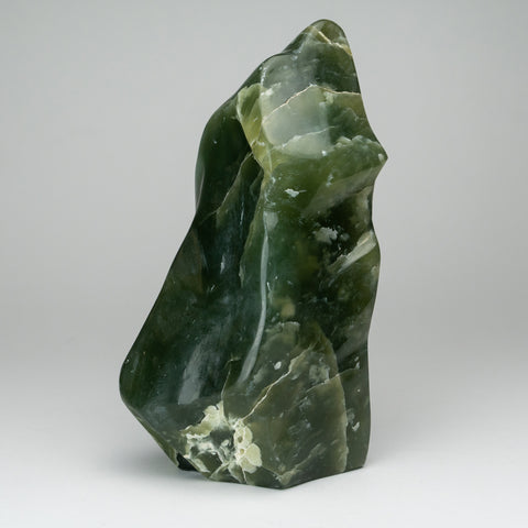 Polished Green Jade Freeform from Pakistan (8.5 lbs)