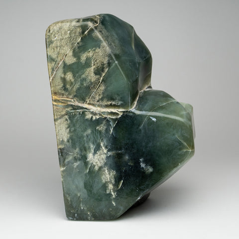 Polished Green Jade Freeform from Pakistan (17 lbs)