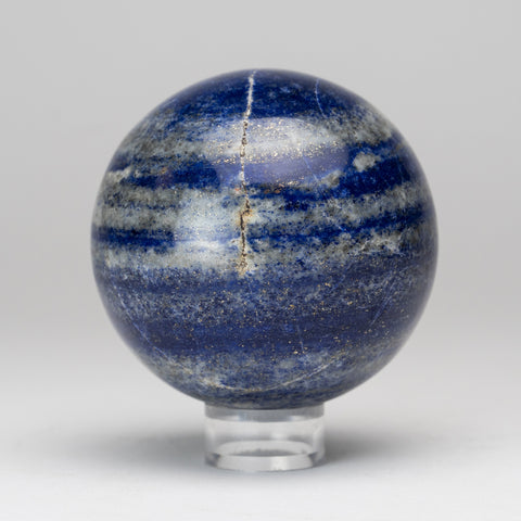 "Polished Lapis Lazuli Sphere from Afghanistan (3"", 1.3 lbs)"