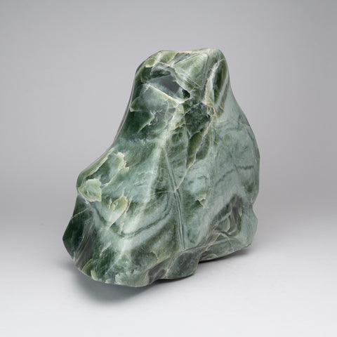 Polished Green Jade Freeform from Pakistan (27.5 lbs)