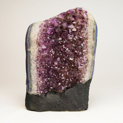 Amethyst Cluster From Brazil (8.5'', 8.5 lbs)