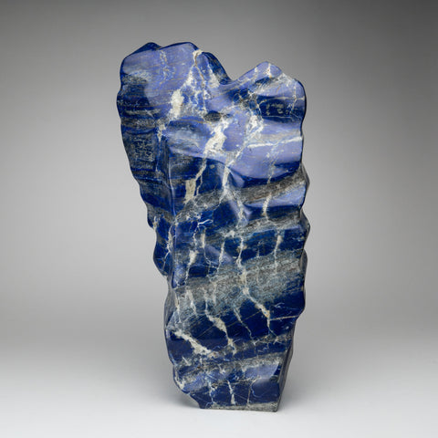 Polished Lapis Lazuli Freeform from Afghanistan (35.5 lbs)