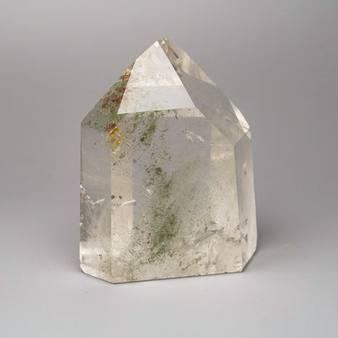 Gem Garden Quartz Polished Point From Brazil (619 grams)