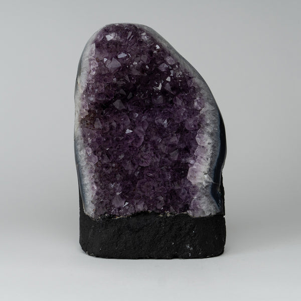 Amethyst Cluster Geode from Brazil (9 lbs)