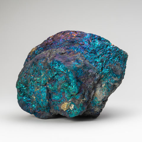 Natural Chalcopyrite Gemstone Peacock Ore (19 lbs)
