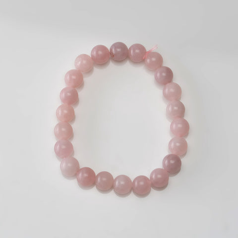 Rose Quartz 8mm Beaded Stretch Bracelet