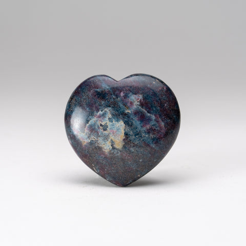 Ruby with Kyanite Polished Heart from India (176.8 grams)