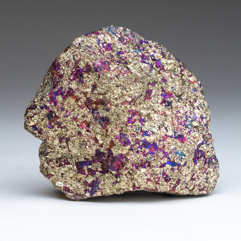 Natural Chalcopyrite Gemstone Peacock Ore (1.5 lbs)