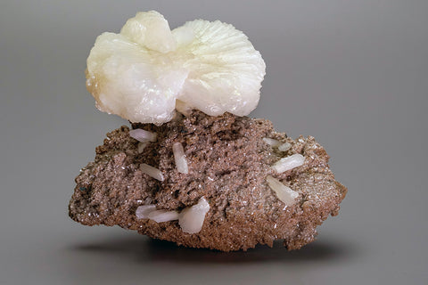 Stilbite on Matrix from Aurangabad, Maharashtra, India