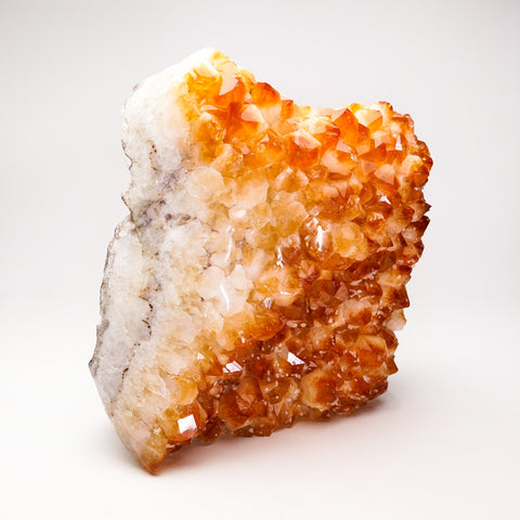Citrine Quartz Crystal Cluster From Brazil (10.5'', 21.5 lbs)