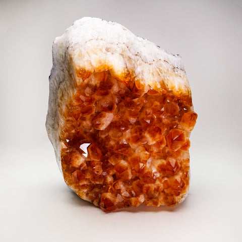 Citrine Quartz Crystal Cluster From Brazil (11'', 24.5 lbs)