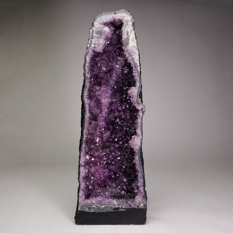 Amethyst Cluster Geode From Brazil (20'' 24.5 lbs)