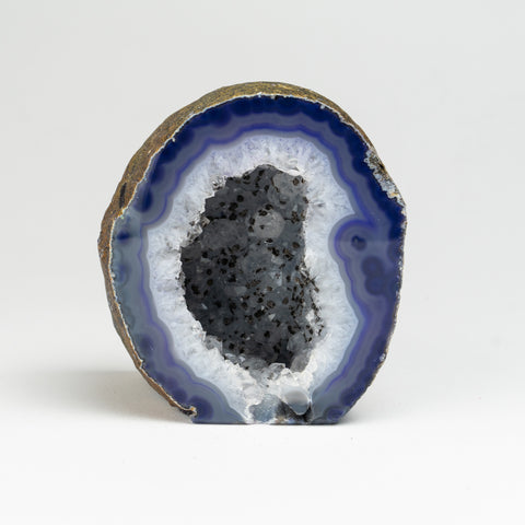 Banded Agate Geode From Brazil (1.5 lbs)