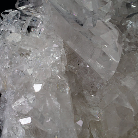 Gem Quartz Crystal Cluster from Brazil (6 lbs)