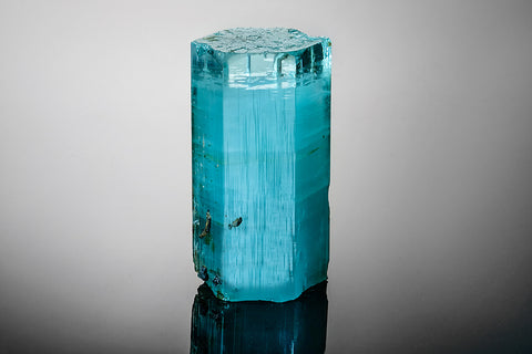 Aquamarine Crystal From Minas Gerais, Brazil (545.9 grams)