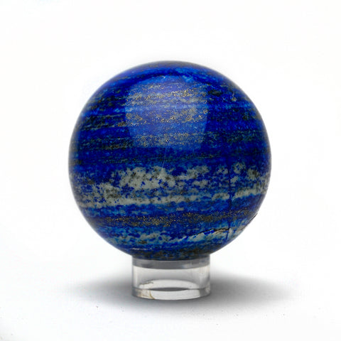Polished Lapis Lazuli Sphere from Afghanistan (448 grams)