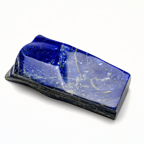 Polished Lapis Lazuli Freeform from Afghanistan (2 lbs)