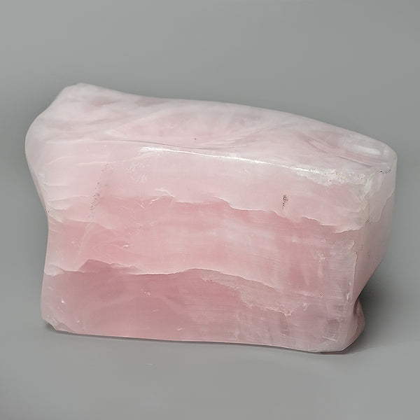 Polished Pink Mangano Calcite from Pakistan (5.5 lbs)