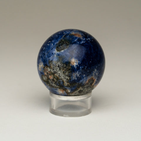 "Polished Sodalite Sphere from Brazil (1.5"" 87.2 grams)"