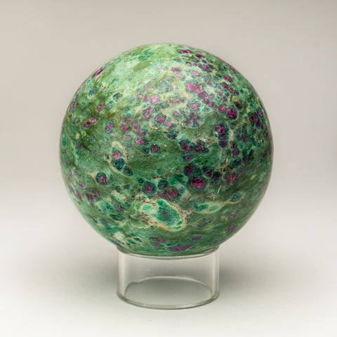 "Polished Ruby in Fuchsite Sphere (4"" 3.5 lbs)"