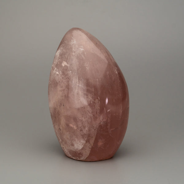 Polished Rose Quartz Freeform From Brazil (762.6 grams)