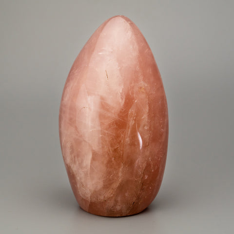 Polished Rose Quartz Freeform From Brazil (1.9 lbs)