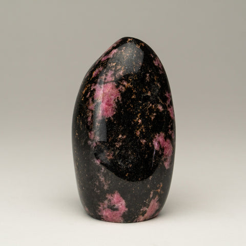 Polished Imperial Rhodonite Freeform from Madagascar (383.5 grams)