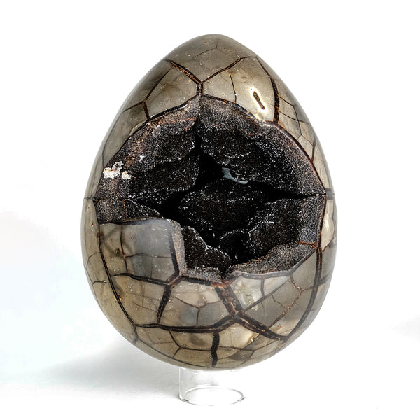 Large Septarian Druzy Egg from Madagascar (22.5 lbs)