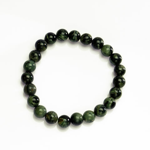Kambaba Jasper 8mm Beaded Stretch Bracelet