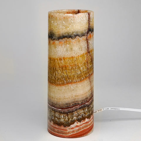 "Small Onyx Lamp from Mexico (8"", 2 lbs)"