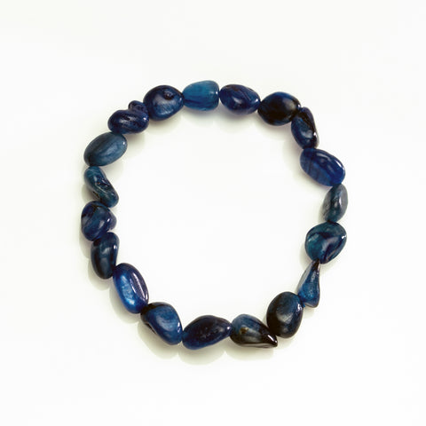 Kyanite 8mm Beaded Stretch Bracelet