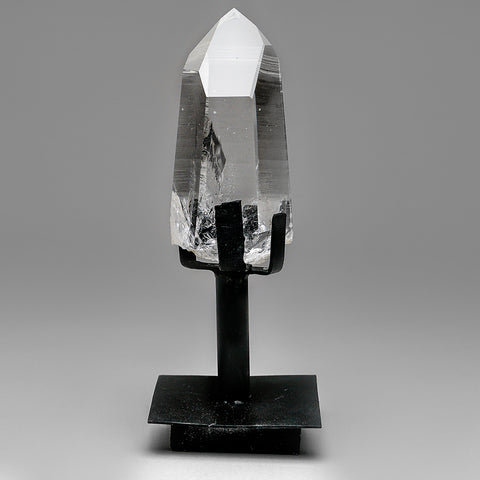 Polished Quartz Crystal on Stand From Brazil (2 lb)