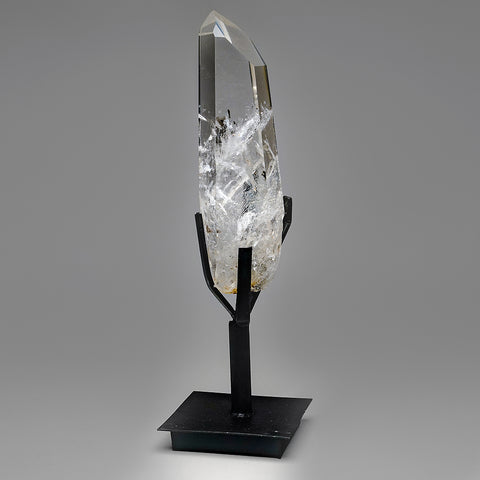 Polished Quartz Crystal on Stand From Brazil (2.5 lb)