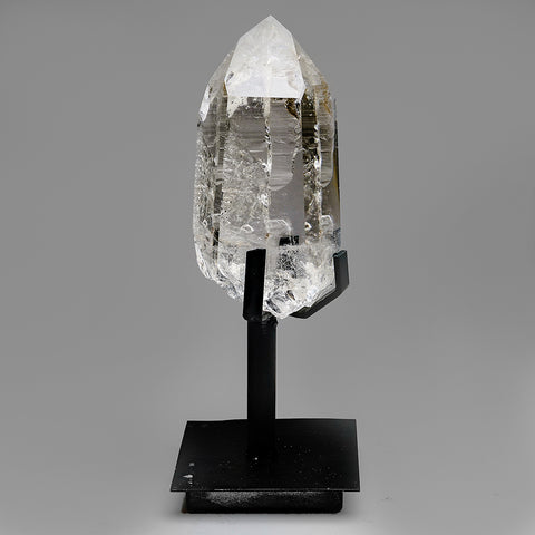 Polished Quartz Crystal on Stand From Brazil (4.5 lb)