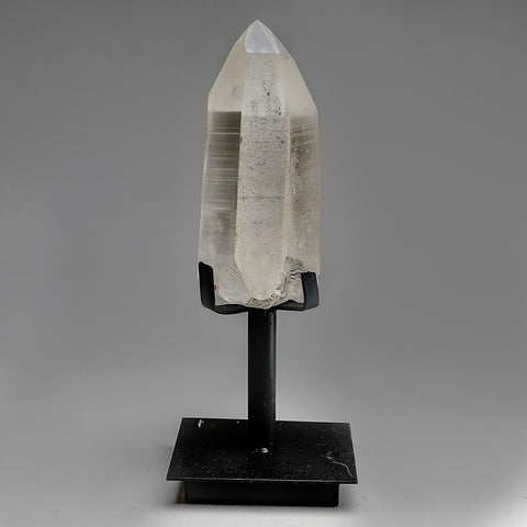 Natural Lemurian Quartz Crystal on Stand From Brazil (3 lb)