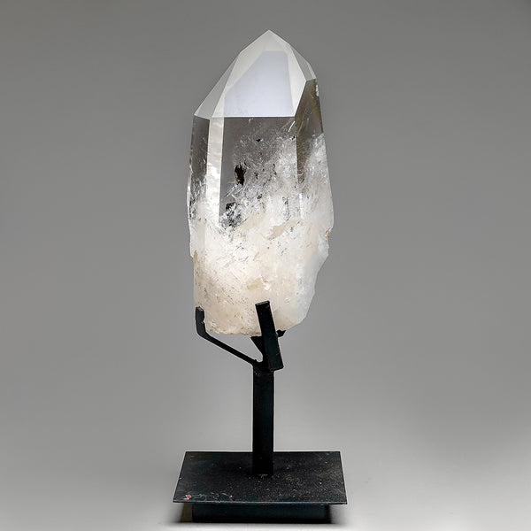 Polished Quartz Crystal on Stand From Brazil (10 lb)