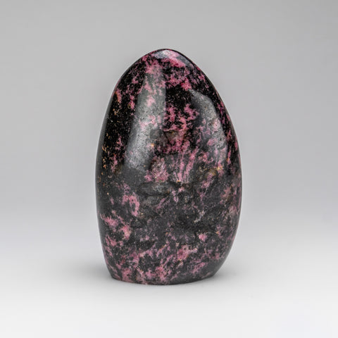 Polished Imperial Rhodonite Freeform from Madagascar (3.5 lbs)
