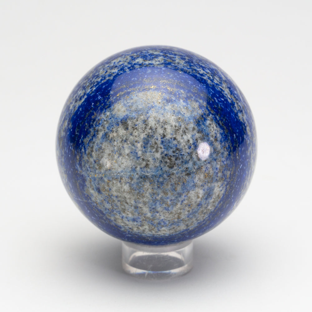 "Polished Lapis Lazuli Sphere from Afghanistan (2.7"", 1.2 lbs)"