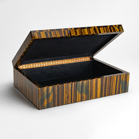 Tiger's Eye Jewelry box