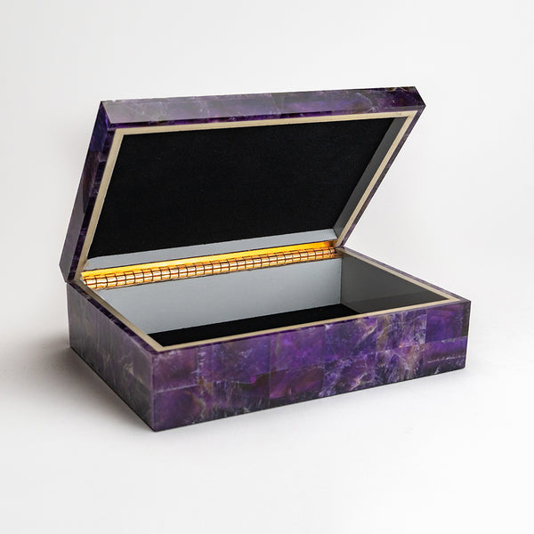 Amethyst Jewelry Box