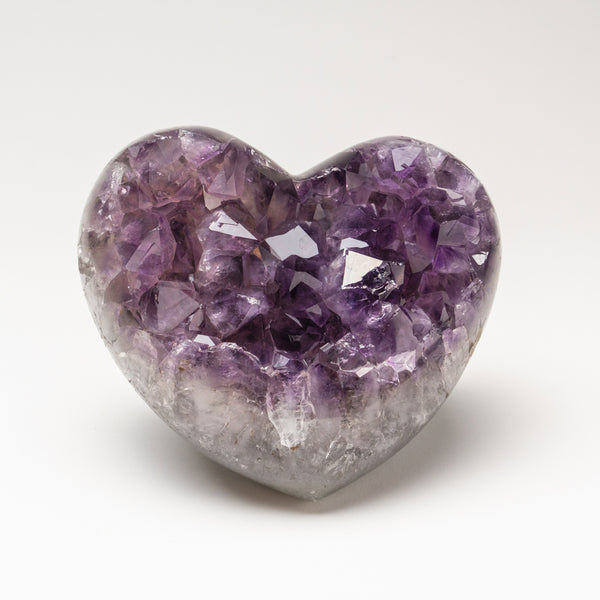 Amethyst Cluster Heart from Brazil (2.5 lbs)