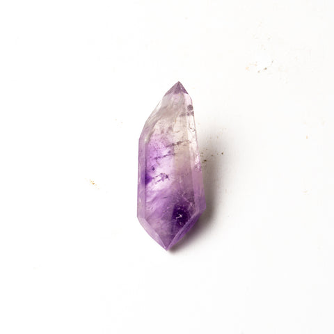 Polished Amethyst Crystal Point From Brazil (48.7 grams)