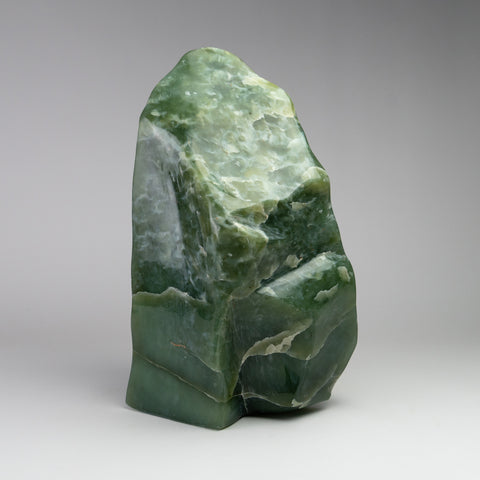 Polished Green Jade from Pakistan (38.5 lbs)
