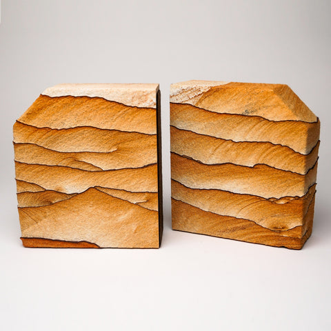 Sandstone Bookends from Arizona(10 lbs)