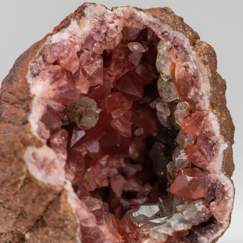 Pink Amethyst Geode Cluster from Neuquén Argentina (254.3 grams)
