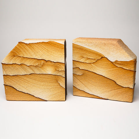 Sandstone Bookends from Arizona (9.5 lbs)