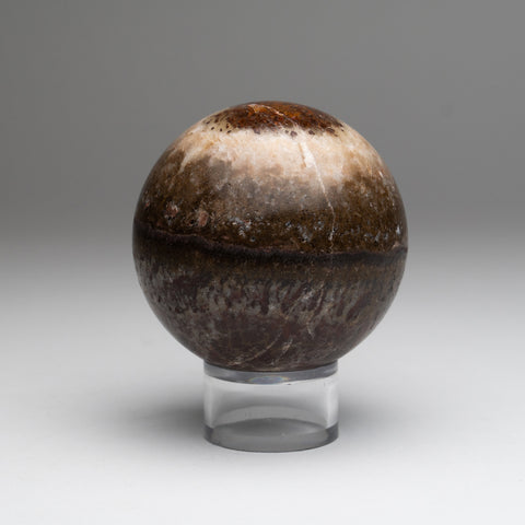 Brown Onyx Sphere from Mexico (1.8 lbs)