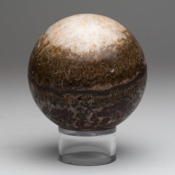 Brown Onyx Sphere from Mexico (1.5 lbs)
